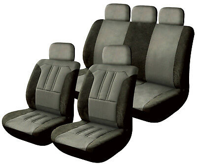 Streetwize Universal Heavy Duty Fully Waterproof Seat Covers Full Set in Black