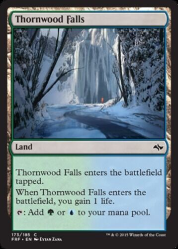 x4 Thornwood Falls MTG Fate Reforged C M//NM English