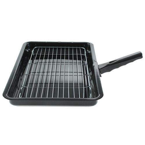 For Bosch Universal Enamel Grill Pan /& Detachable Handle 360 x 240mm