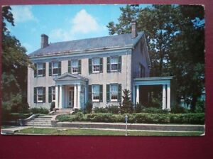 POSTCARD-USA-OHIO-WILMINGTON-CLINTON-COUNTY-MUSEUM