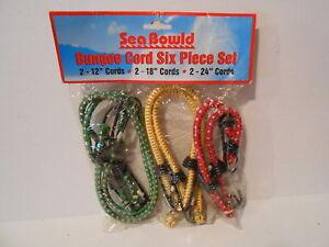 6-Piece Mintcraft FH64078 Bungee Cord Set