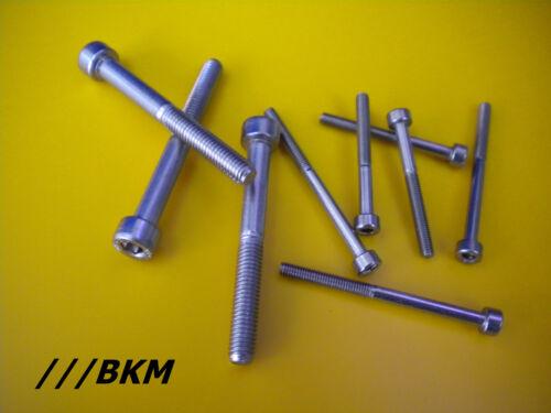 Zylinderkopfschrauben M3 M4 DIN 912 Zylinderschrauben ISK Edelstahl VA A2 V2A