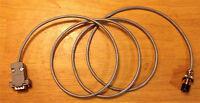 Yaesu Ft-2700 8 Pin Mic Plug To Db9 Kantronics Type Tnc Cable