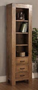 Image Is Loading Sandringham Solid Dark Oak Living Room Furniture Narrow  Part 10