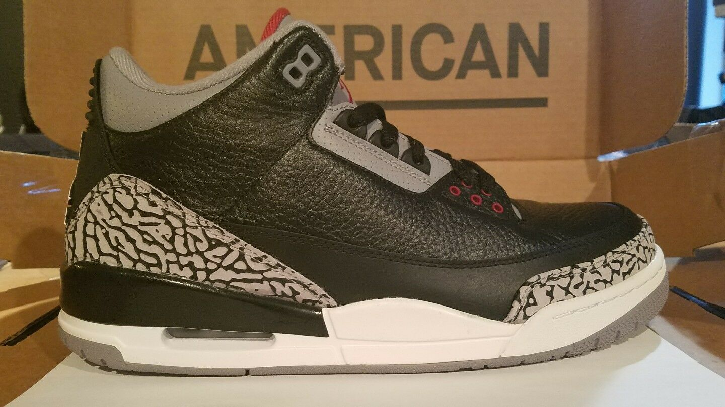Air Jordan 3 Retro Black Cement 3 2018