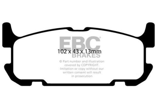 DP41685R EBC Yellowstuff REAR Brake Pads fit MAZDA MX5