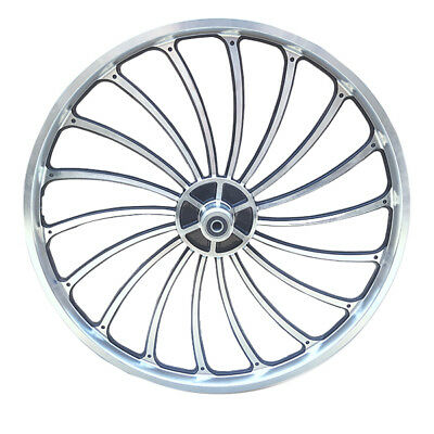 Aluminum Bicycle Front or Rear Wheel 20 X 1.75//2.125//2.5/'/' eBike Chopper