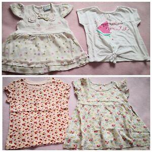 Baby Cutey Pie Baby Girl Bird Girafe T-shirt Bundle Set Taille 6-9 Mois-afficher Le Titre D'origine Effet éVident