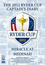 DVD:RYDER CUP 2012 DIARY AND OFFICIAL FILM (39TH) - NEW Region 2 UK