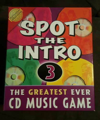 1 of 1 - Spot the Intro 3 Audio CD Game - Cheatwell Games - free shipping