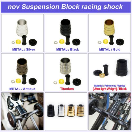 light weight for Brompton Folding Bike nov Suspension Block Racing Shock series