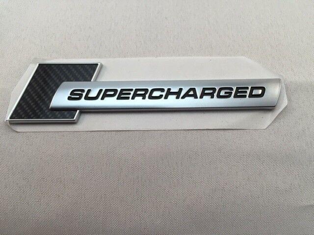 audi supercharged emblem logo carbon 4f0853601 badge. Black Bedroom Furniture Sets. Home Design Ideas