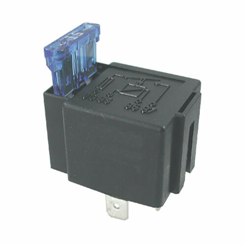 24V Relay 4 PIN Automotive 15AMP 15a Normally Open Contact Fused 15a fuse