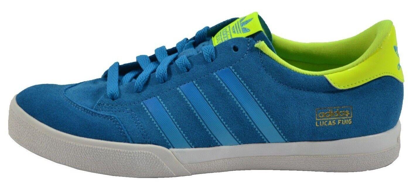 Adidas LUCAS Bleu Lime Vert Blanc Lucas Puig (255) Homme Skateboarding Chaussures
