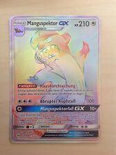 Pokemon TCG Manguspektor GX Secret Full Art Sonne & Mond 157/149 selten deutsch!