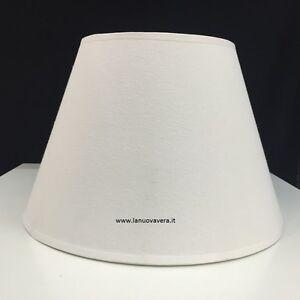 PARALUME-LISCIO-AVORIO-CHIARO-E27-35-CM-lampada-piantana-applique-lampadario