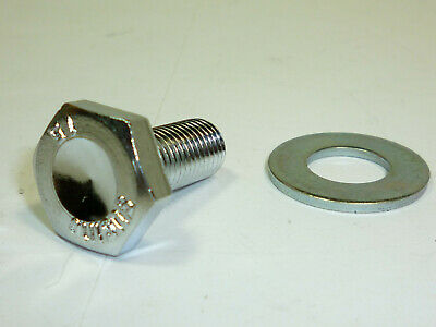 NOS Sugino 75 Chrome Crank Bolt /& Washers Vintage Road bike Fit Campagnolo