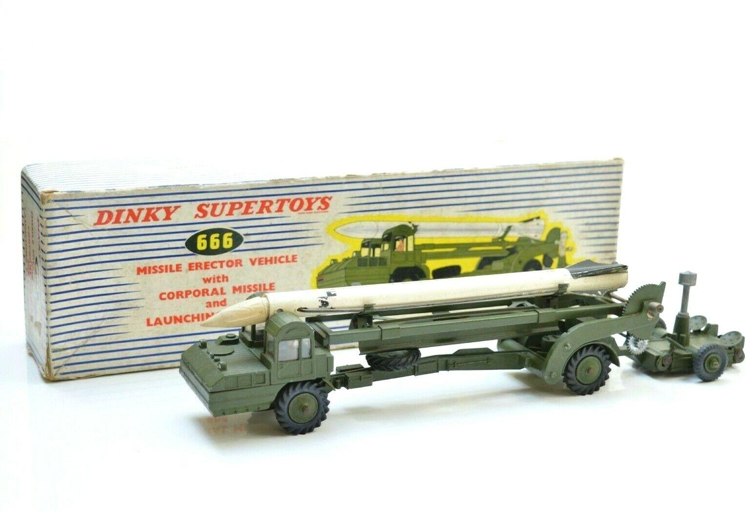 marchio in liquidazione DINKY 666 MISSILE ERECTOR veicolo e Lanciatore di missili missili missili CAPORALE  alla moda
