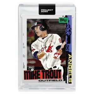 Topps-PROJECT-2020-Card-85-2011-Mike-Trout-by-Jacob-Rochester-PRESALE-w-box