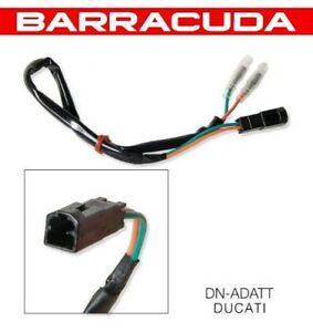 Kit Coppia Cavi Adattatori Frecce Indicatori Barracuda Ducati Hypermotard 1100