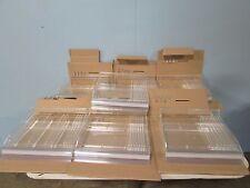 Bnib Azar 7 Ct Acrylic Cosmetic Sliding Display Trays Withu Hooks Amp Dividers