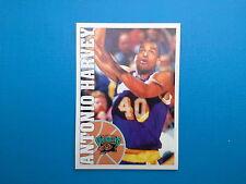 1995-96 Panini NBA Basketball Sticker N.205 Antonio Harvey Vancouver Grizzlies