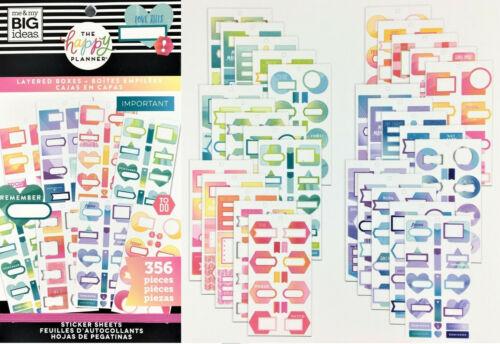 Me /& My Big Idées créer 365 l/'heureux Planner Stickers Value Pack-vous choisissez!