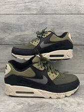 Shoes NIKE Air Max 90 Leather 302519 014 BlackMedium OliveSequoia