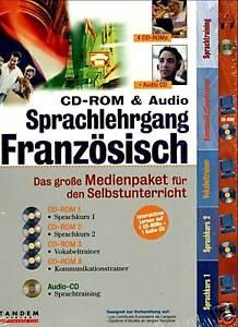 CD-ROM-amp-Audio-Sprachlehrgang-Franzoesisch-BRANDNEU
