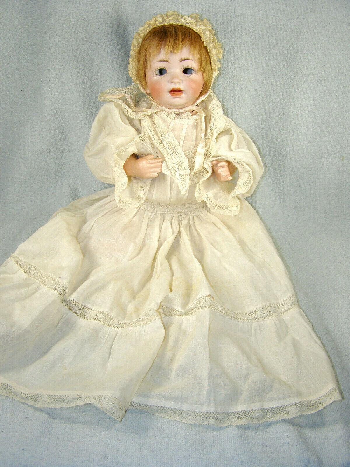 Antique Kestner JDK German Bisque Character Baby Doll - 152-4