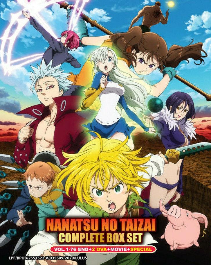 Dvd Anime The Seven Deadly Sins Season 1 2 Ova Complete Set English Version For Sale Online Ebay