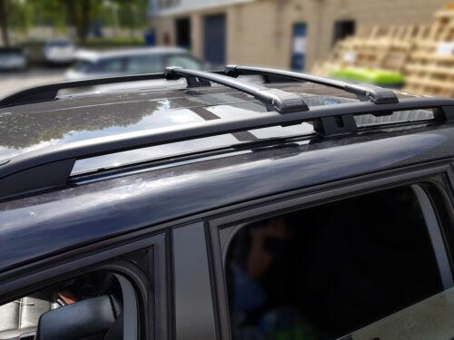FIAT PANDA LOCKABLE BLACK CROSS BARS ROOF BARS RACK 2014 ONWARDS 75 KG CAPACITY