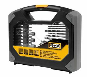 JCB-40-Pieza-Combinacion-Taladro-amp-conduccion-Bit-Set-Nuevo