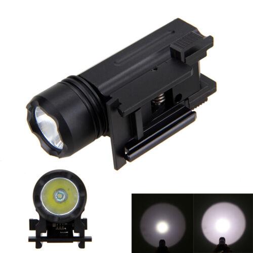 3000LM XPE Q5 LED 150 Yard Jagd Taschenlampen Pistole Licht Akkru Schiene 20mm