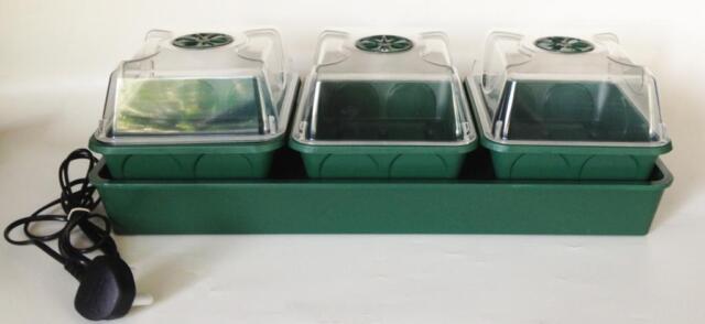 Nutley's electric heated propagator windowsill self-watering MPL seeds cuttings