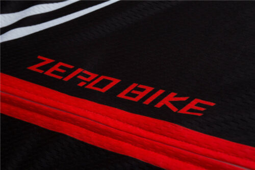Herren Fahrradbekleidung Cycling Atmungsaktiv Radsport Fahrradtrikot Langarm Rot