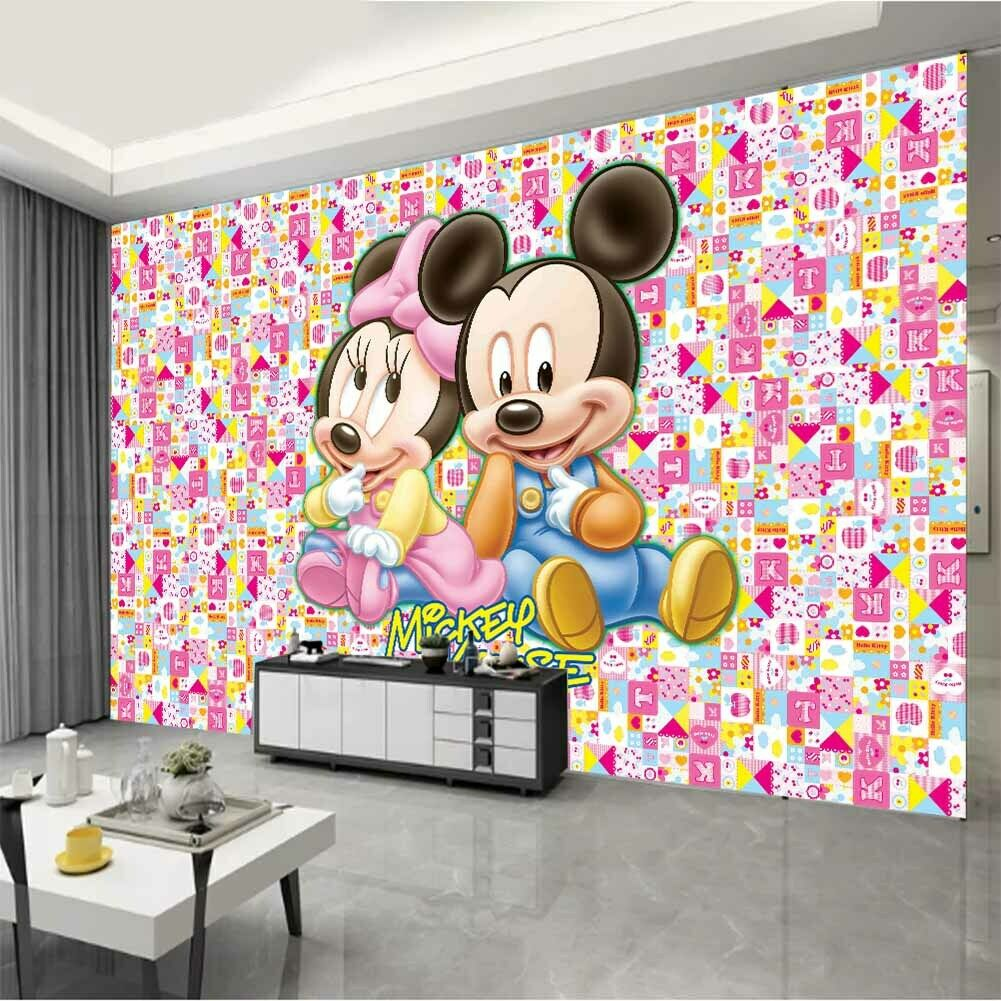 Wall mural photo wallpaper Disney Minnie Mouse chlildren/'s room giant poster