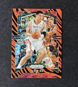 2019-20-Panini-Prizm-TIGER-STRIPE-Rare-SSP-7-YAO-MING-Basketball-Card-Rockets