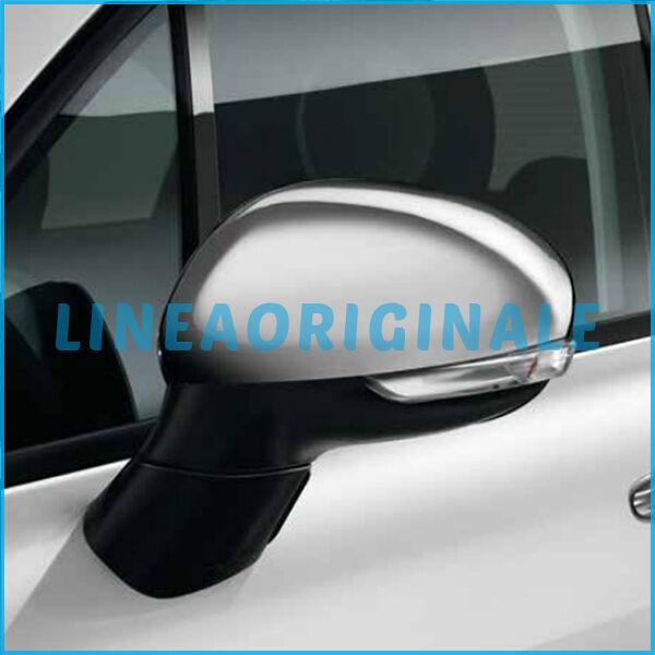 Calotte ORIGINALI Fiat 500X specchietti retrovisori Cromate Lucide FCA 50903552