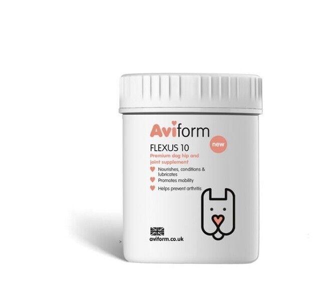 300x850mg Capsules Flexus 10 - Dog Joint Supplement TDP Aviform (Was )