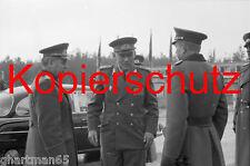 G56 NVA Generale luogotenente Helmut poppe arriva con Tatra, 70er anni, foto 20x30 cm