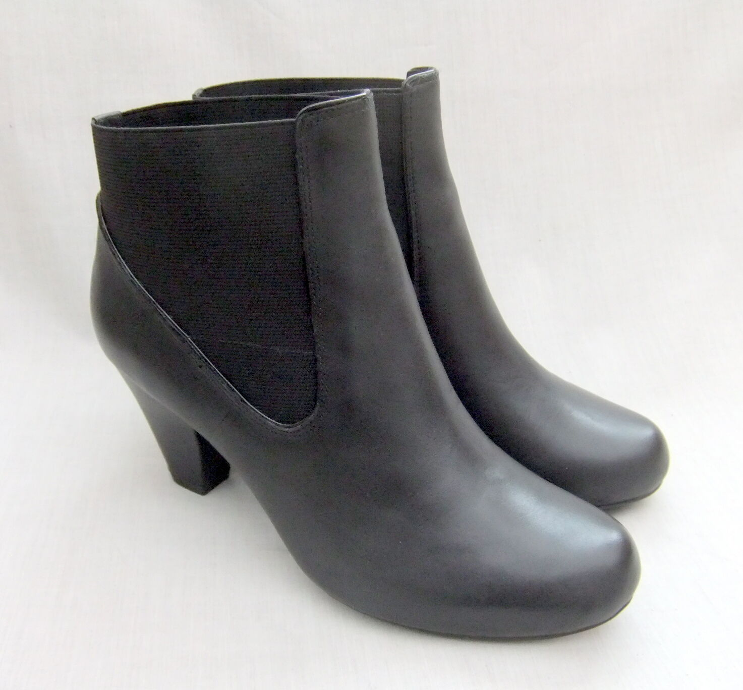 NEU CLARKS COOLEST BABE Damenschuhe BLACK LEATHER ANKLE BOOTS