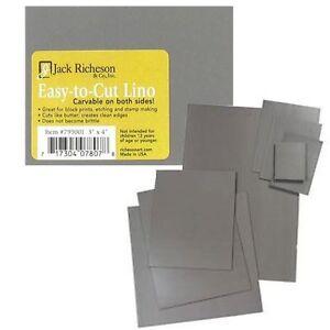 "Jack Richeson Easy to Cut Unmounted Linoleum Block 6""x6"" 799005"