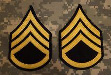 US Army Dress Blue Uniform Staff Sergeant E-6 Rank Stripes Patch Perfect Used