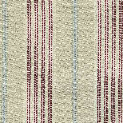 Awning Stripe Longaberger Handle Gripper with Button Closure