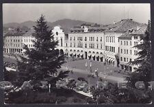 BELLUNO CITTÀ 42 AUTOMOBILE CLUB Cartolina FOTOGRAFICA viaggiata 1956