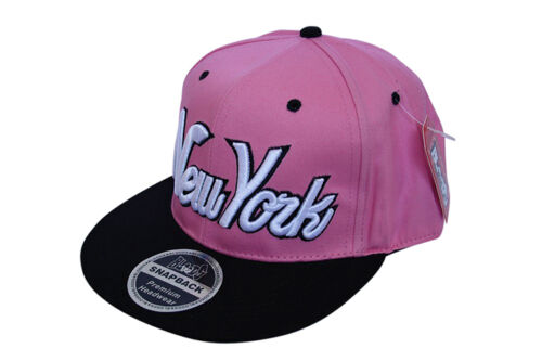 Bloods couvre-chefs 2 Ton NY New York script snapback plat pic casquette snap back