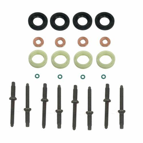 RONDELLA DI TENUTA INIETTORE ORING Protettore Kit Set Suzuki SX4 GY 1.6 DDiS 2007 su