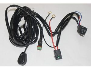 off road led light bar wiring harness kit utv led light bar wiring harness