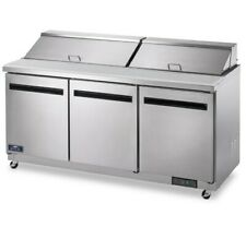 Arctic Air Ast72r 71 12 Sandwichsalad Prep Table With Refrigerated Base 115v